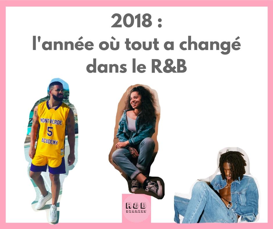 2018 age d'or de la musique RNB chanson