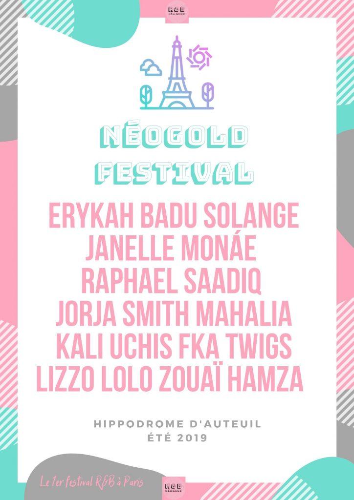 Néogold Festival RNB à Paris